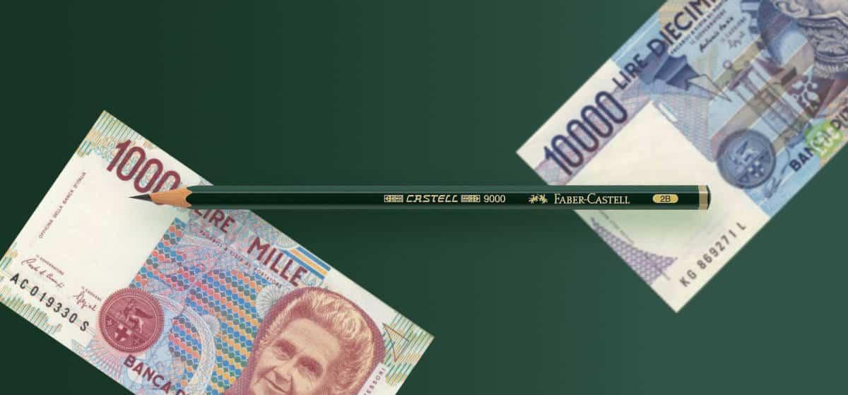 ✏️ La matita da 42 mila lire. Una lezione di marketing